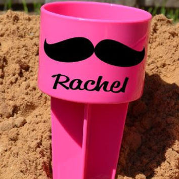 Moustache Beach Spike Beverage Holder