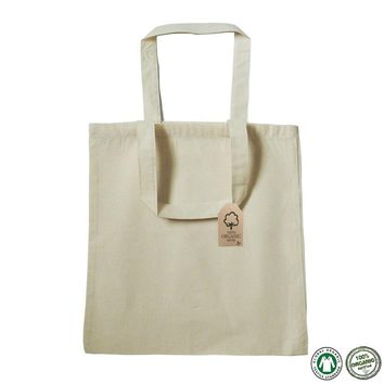 fa1cfdeaf5 Organic Cotton Canvas Tote Bag 100% Certified - OR100