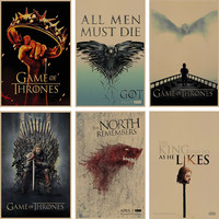 Retro Game of Thrones Posters