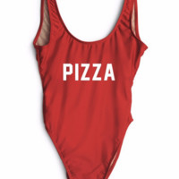 Pizza High Cut One Piece