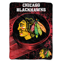 Chicago Blackhawks NHL Micro Raschel Throw (46in x 60in)