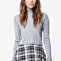 LA Hearts Plaid Skater Skirt - Womens Skirt - Multi