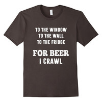 Beer lover Crawl Drinking Game Party drunk hangover Shirt
