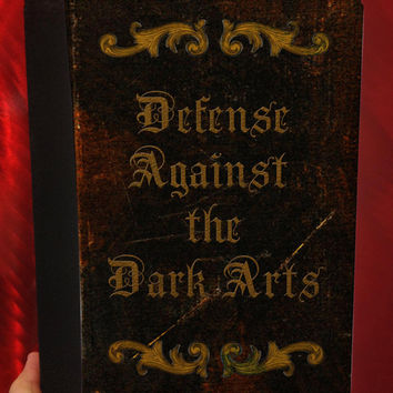 Harry Potter inspired -  Defense Against the Dark Arts -  iPad 2, iPad 3, and iPad 4 Leather Book Cover Case