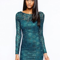 Dress with Long Sleeves