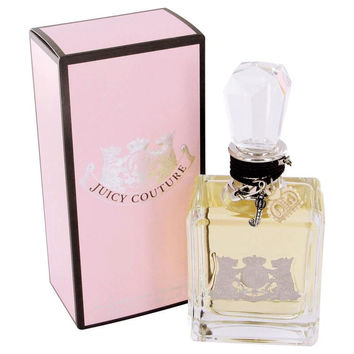 Juicy Couture by Juicy Couture Eau De Parfum Spray with Cosmetic Bag 3.4 oz