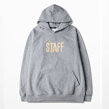 Mens Justin Bieber Purpose Tour Hoodie Security Hooded Sweatshirt Long Sleeve Autumn Clothes