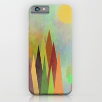 Whimsical Landscape iPhone & iPod Case by Kathleen Sartoris