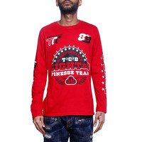 High Performance L/S Jersey Red
