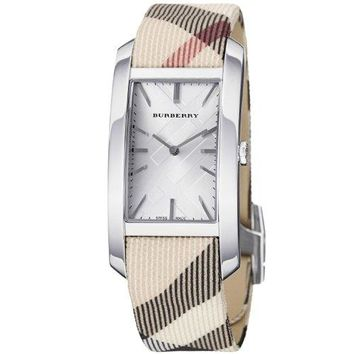 Burberry Women's BU9403 Heritage Nova Check Strap Watch