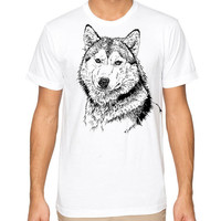 Husband Gift Husky Dog MENS t-shirt Womens T Shirt Christmas Gift Husky Dogs T-shirt Cool Graphic Shirt Kids T shirt