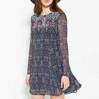 Ecote Meredith Trapeze Mini Dress-