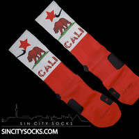 CALIFORNIA ELITES-CUSTOM NIKE ELITE SOCKS-