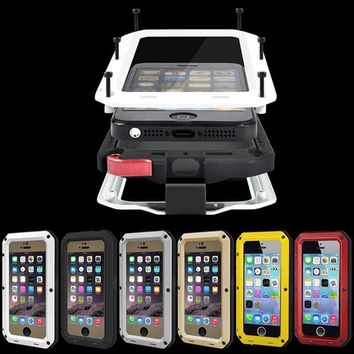 Cell Phone Cover for iPhone 7 6 6S Plus Waterproof Military Heavy Case