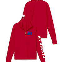 New York Giants Athletic Half-Zip Pullover - PINK - Victoria's Secret