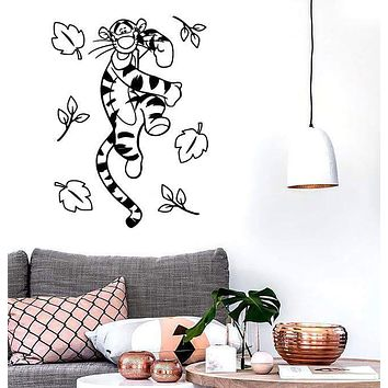 Wall Stickers Vinyl Decal Winnie The Pooh Cartoon Kids Positive Decor (ig1051)