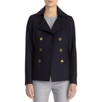Anne Klein: Double Breasted Peacoat