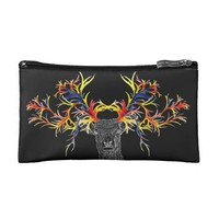 deer makeup bag