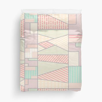 'Soft Abstract #redbubble #buyart' Duvet Cover by designdn