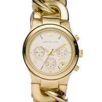 Michael Kors Mid-Size Golden Acetate Runway Twist Watch