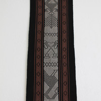 Vintage Woven Native American Textile | Wall Hanging | Tapestry