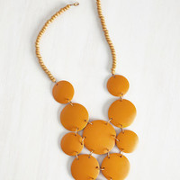 Statement Strewn with Sunlight Necklace by Mata Traders from ModCloth