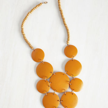 Mata Traders Statement Strewn with Sunlight Necklace