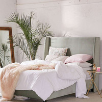 Winona Wingback Bed | Urban Outfitters