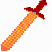 2016 Newest Style Colorful Minecraft Sword 76Cm Best Gift for Kids Boys Girls baby toys minecraft gun&diamond outdoor player