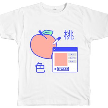 PEACH DIGITAL TEE