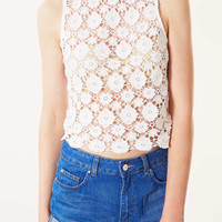 Tall Crochet Crop - New In This Week - New In - Topshop USA