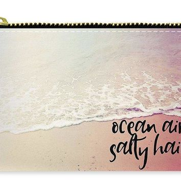 Ocean Air, Salty Hair, Watercolor Art By Adam Asar - Asar Studios 1 - Carry-All Pouch