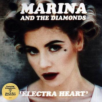 Marina & The Diamonds Electra Heart LP Vinyl NEW