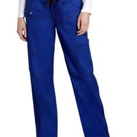 Buy Adar Pop-Stretch Junior Fit Multi Pocket Straight Leg Scrub Pants for $28.45
