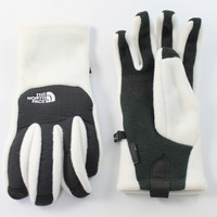 The North Face Women's Denali Etip Gardenia White Gloves