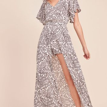 Women's Jack by BB Dakota Electric Feels Printed Maxi Dress