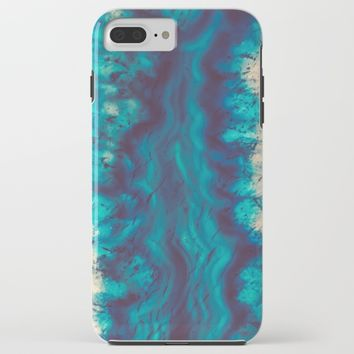 Blue Agate River of Earth iPhone & iPod Case by Elena Kulikova