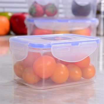1PCS Storage Box Microwave Refrigerator Plastics Food Container 9 Size C