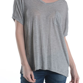 V-Neck Tencel T-Shirt