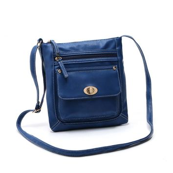 2018 New fashion high quality Womens Leather Satchel Cross Body Shoulder Messenger Bag PU Leather Sac Bandouliere#xxf