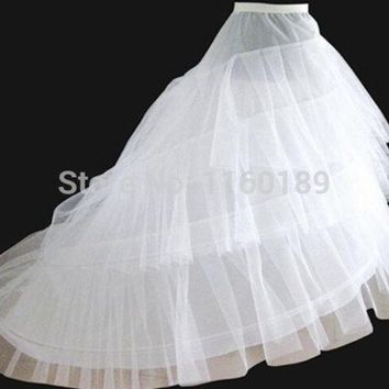 VONGB5 woven lycra wedding petticoat 2014 bridal petticoat underskirt petticoats for wedding dress vestido de noiva = 1932957700
