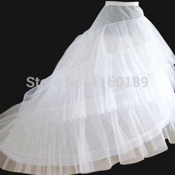 ONETOW woven lycra wedding petticoat 2014 bridal petticoat underskirt petticoats for wedding dress vestido de noiva = 1932957700