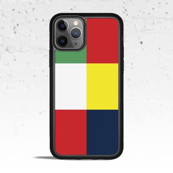Tommy Block Phone Case for Apple iPhone