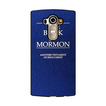 The Book Of Mormon Cover Book LG G4 Case