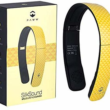 Paww SilkSound Headphones - Stylish Foldable SilkSound Headphones - Stylish Foldable On-Ear Wireless Bluetooth Handsfree Calling with 8 Hours Playtime for Work Travel or Outdoor Use