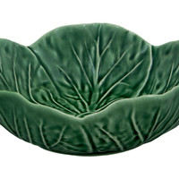 Cabbage Cereal Bowl, Green, Bowls