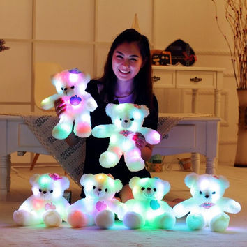 Beautiful Soft and Plush Light Up Teddy Bear