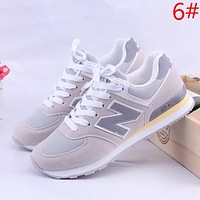 New Balance Fashion New Z Letter Contrast Color Women Men Sports Leisure Shoes