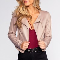 Asher Jacket - Dusty Rose