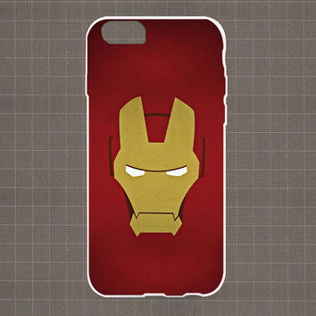 Minimalistic Iron Man iPhone 4/4S, 5/5S, 5C Series Hard Plastic Case